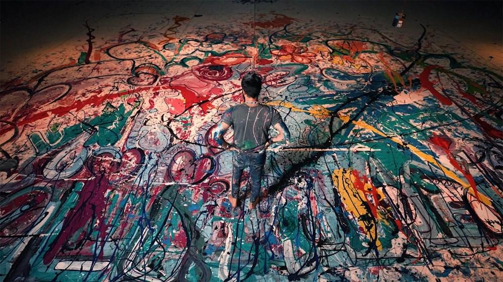 Ressam Sacha Jafri rekora koşuyor - 6
