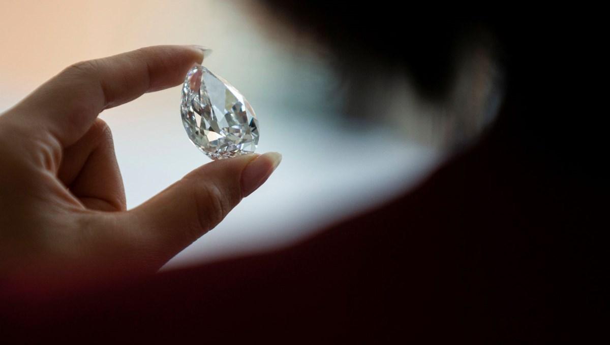 15 milyon dolarlık elmas için açık artırmada kripto para kabul edilecek
