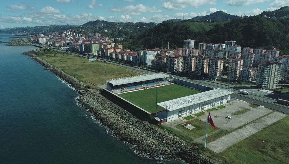 Trabzon'da denize sıfır stat