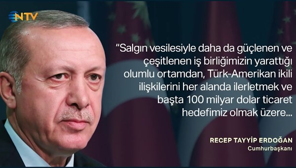 Erdoğan'dan Trump'a mektup