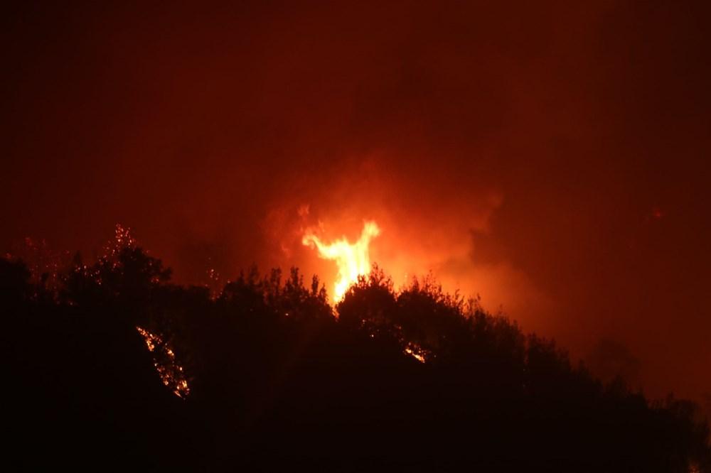 Adana'da orman yangını: 8 köy boşaltıldı - 12