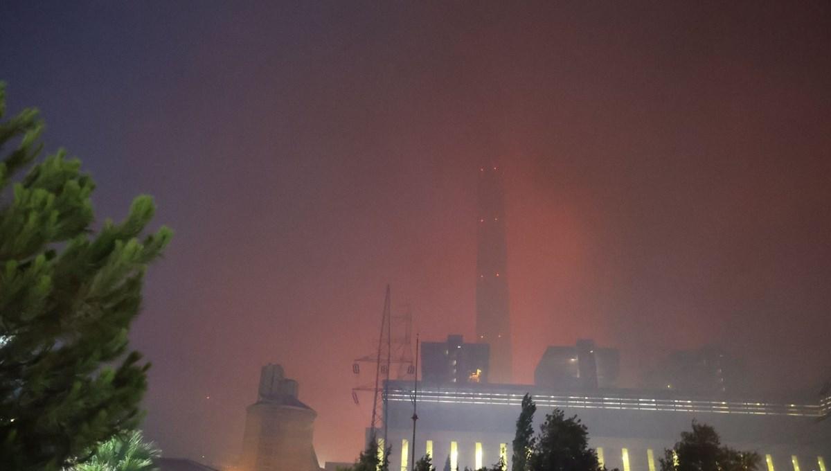 Orman yangınlarında son durum: Termik santraldeki yangın söndü