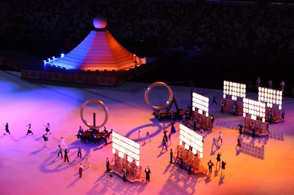 2020 Tokyo Olimpiyatları görkemli açılış töreniyle başladı - 62