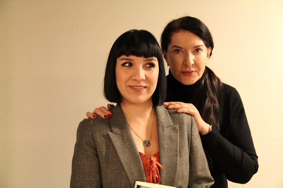 Marina Abramovic ve Gülşah Güray