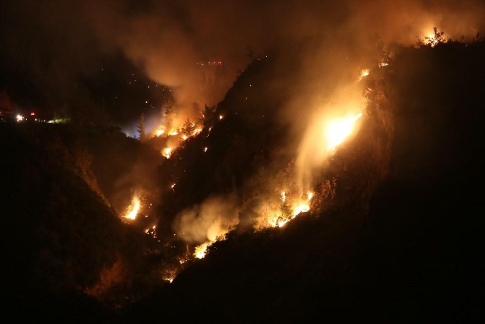 Antalya, Adana, Mersin, Aydın, Muğla, Osmaniye, Kayseri ve Manisa'da orman yangınları - 13