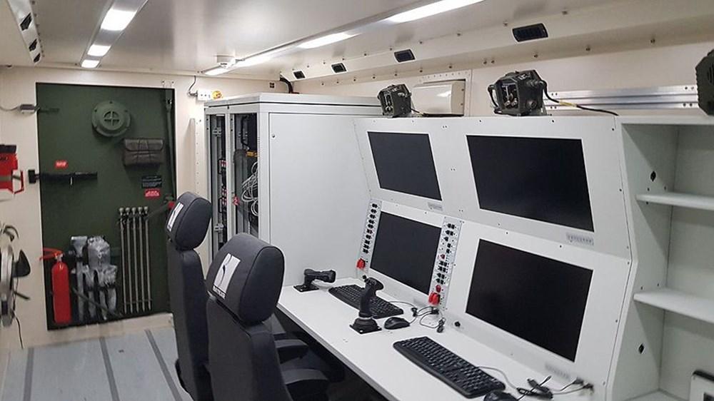 Dijital birliğin robot askeri Barkan göreve hazırlanıyor (Türkiye'nin yeni nesil yerli silahları) - 168
