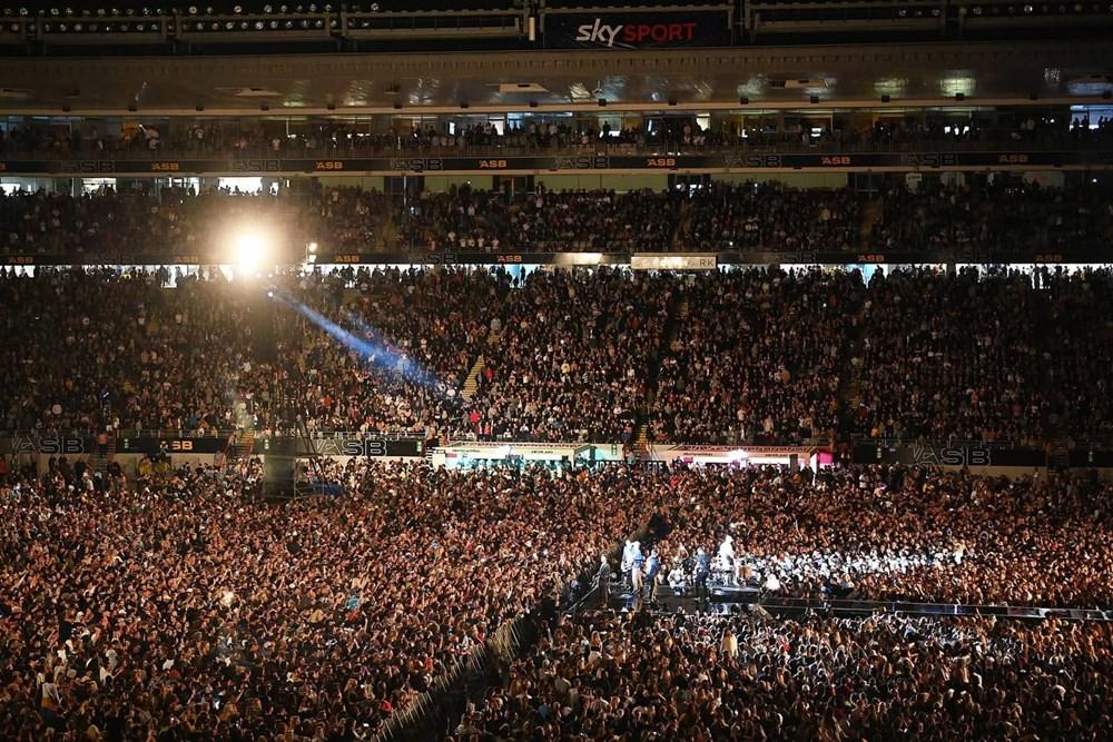 Dünya karantinadayken Yeni Zelanda'da 50 bin kişilik konser - 20