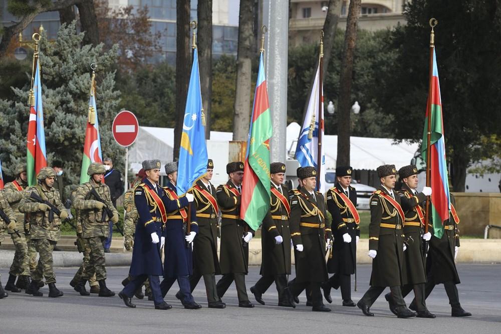 Bakü'de Karabağ zaferi kutlaması - 14