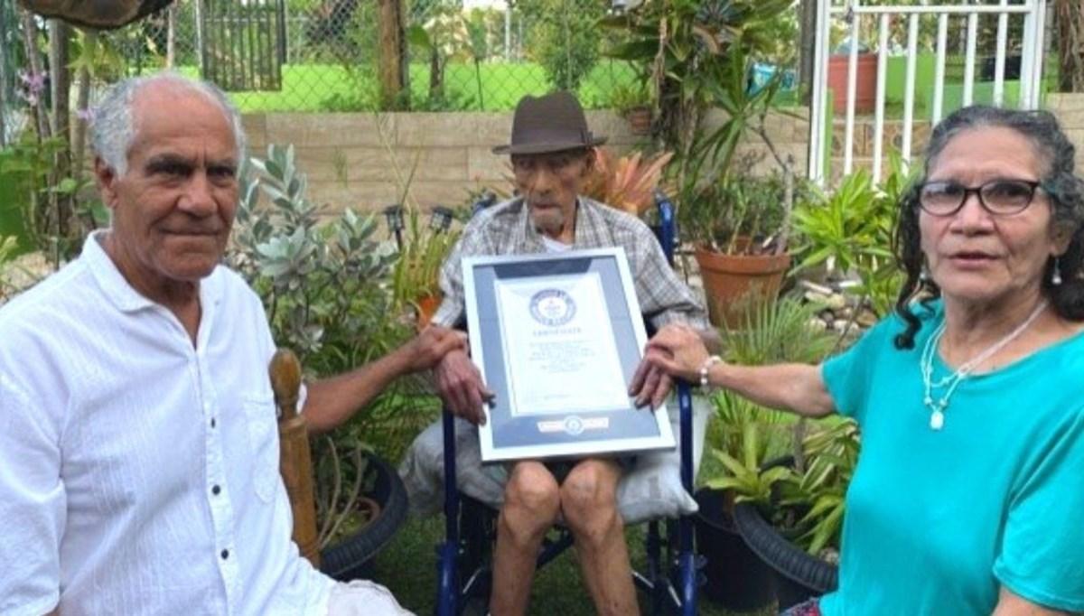 Guinness duyurdu: Yaşayan en yaşlı erkek açıklandı