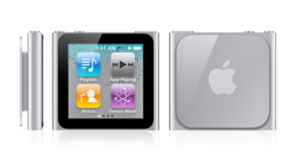 Yeni iPod Nano