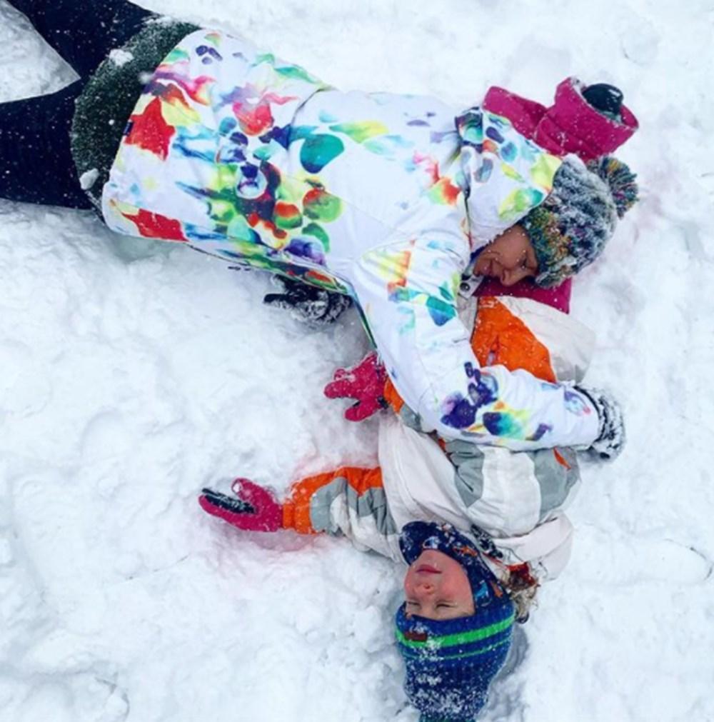 Ünlülerin kar sevinci - 2