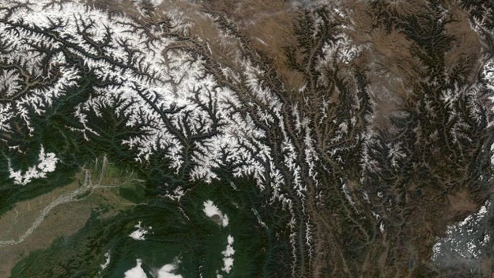 NASA Trump'ın 'büyük felaket' ilan ettiği yangınların uydu görüntülerini yayınladı - 9