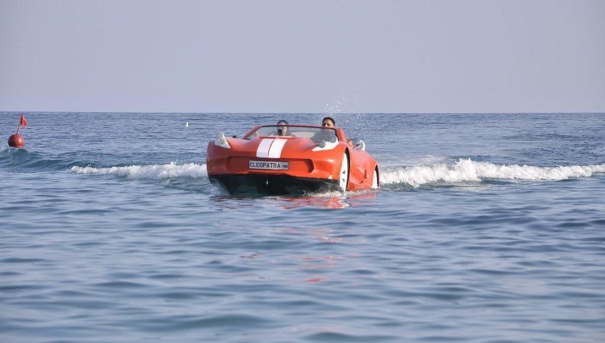 Otomobil görünümlü deniz araçları yurt dışında ilgi görüyor