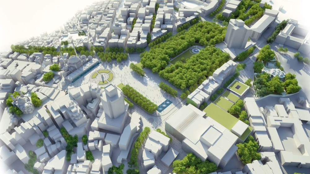 Taksim Meydanı Tasarım Yarışması sonuçlandı (Taksim Meydanı böyle olacak) - 33