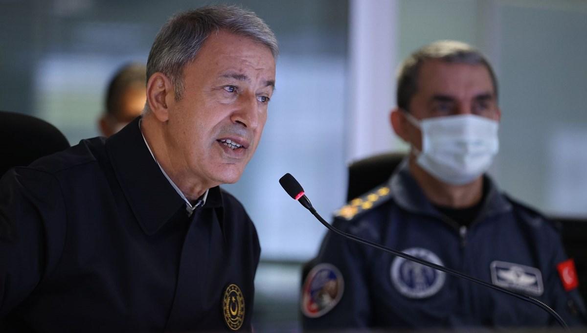 SON DAKİKA HABERİ... Bakan Akar: 1 Ocak'tan bugüne kadar 1107 terörist etkisiz hale getirildi