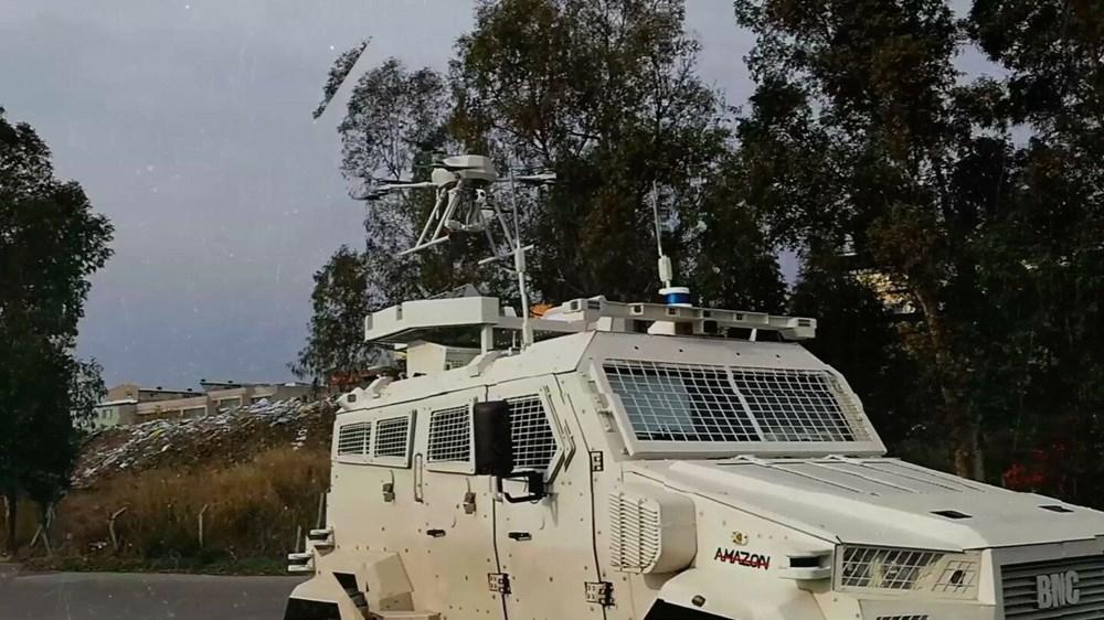 Silahlı drone Songar, askeri kara aracına entegre edildi (Türkiye'nin yeni nesil yerli silahları) - 3