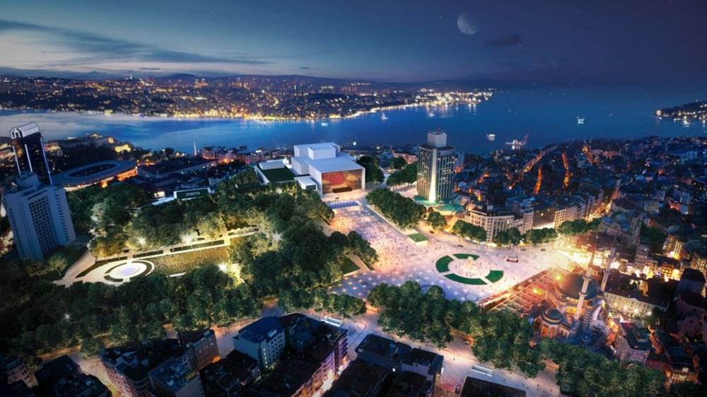 Taksim Meydanı Tasarım Yarışması sonuçlandı (Taksim Meydanı böyle olacak) - 42