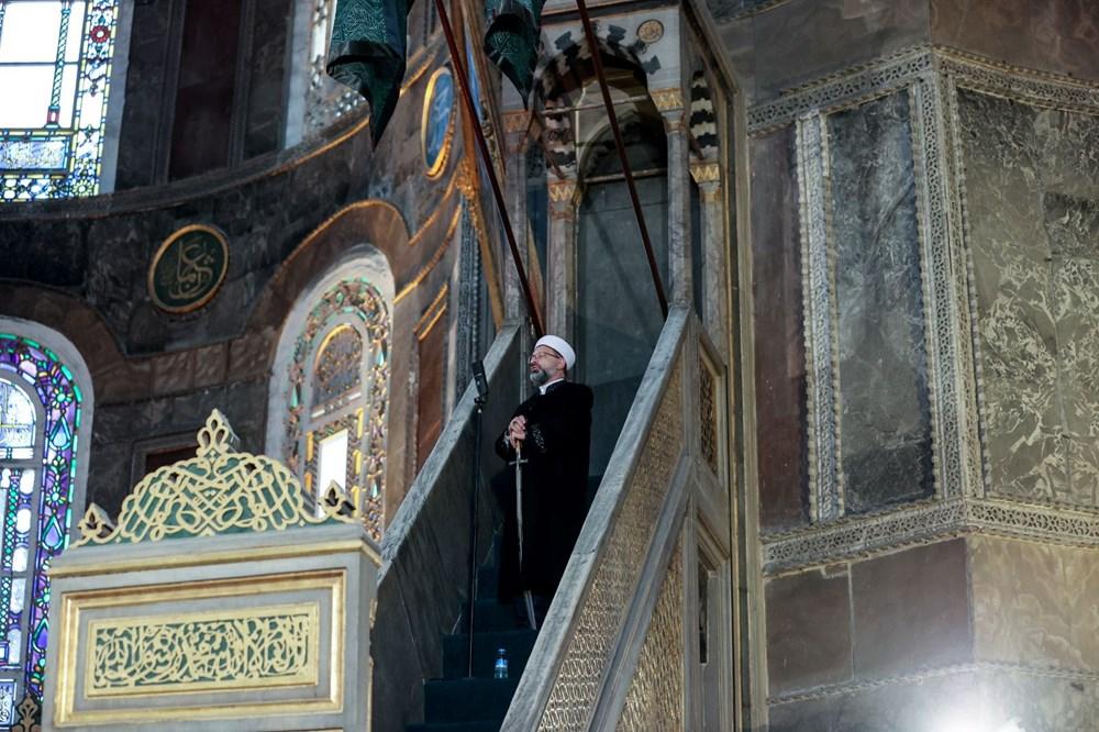 Ayasofya'da 87 yıl sonra ilk Ramazan Bayramı namazı kılındı - 22