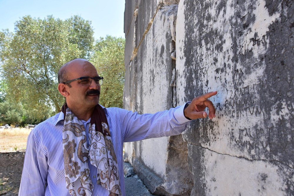 Yatağan'daki Antik kentte 1720 yıllık fiyat listesi - 3