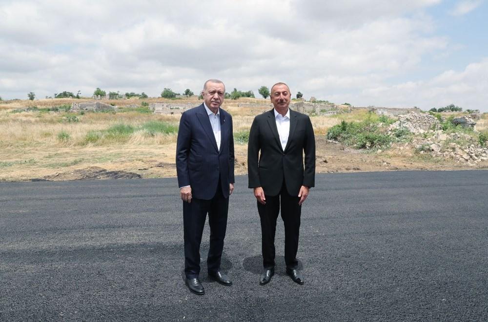 Cumhurbaşkanı Erdoğan, Azerbaycan'da - 9