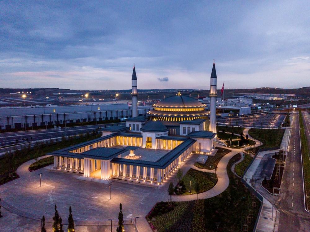 İstanbul Havalimanı'nda 3. bağımsız pist, Devlet Konukevi ve cami ...