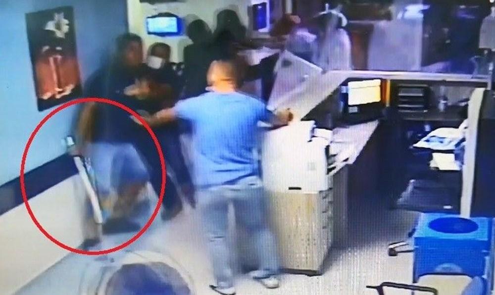 Hastanede güvenlik görevlisi ve doktora saldırı - 1