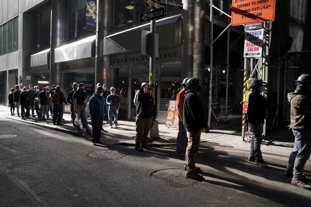 ABD'de vaka rekoru: New York'ta yeni kısıtlamalar - 7