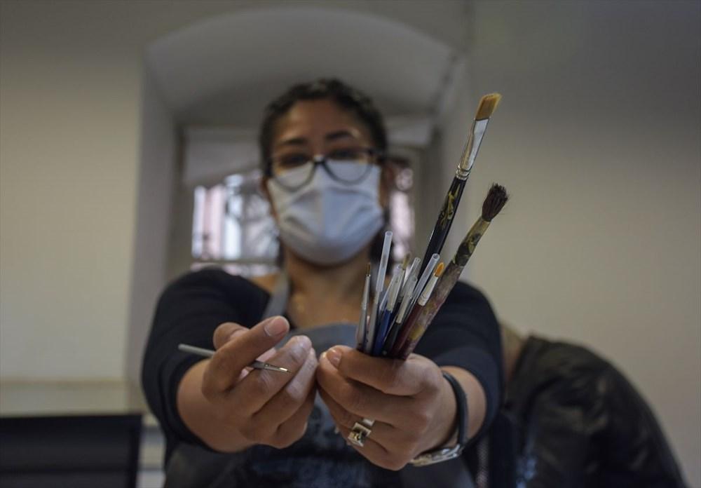 Meksikalı sanatçı Sofia Chavez'in Dolmabahçe Sarayı'na uzanan sanat yolculuğu - 7