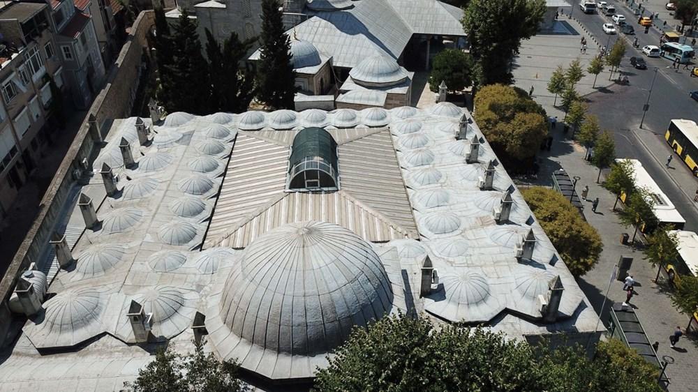 Mihrimah Sultan Külliyesi'nin bacalarındaki klimalar kaldırıldı - 5