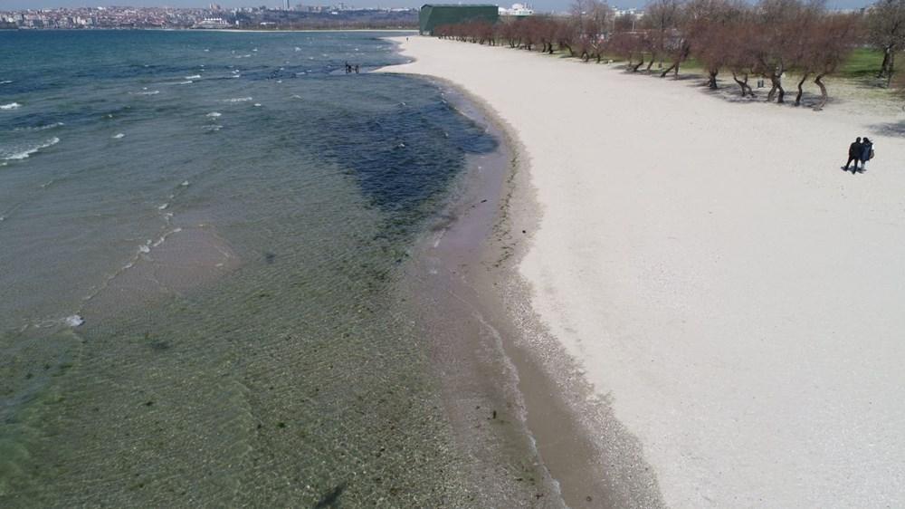 İstanbul'da deniz çekilmesi - 12