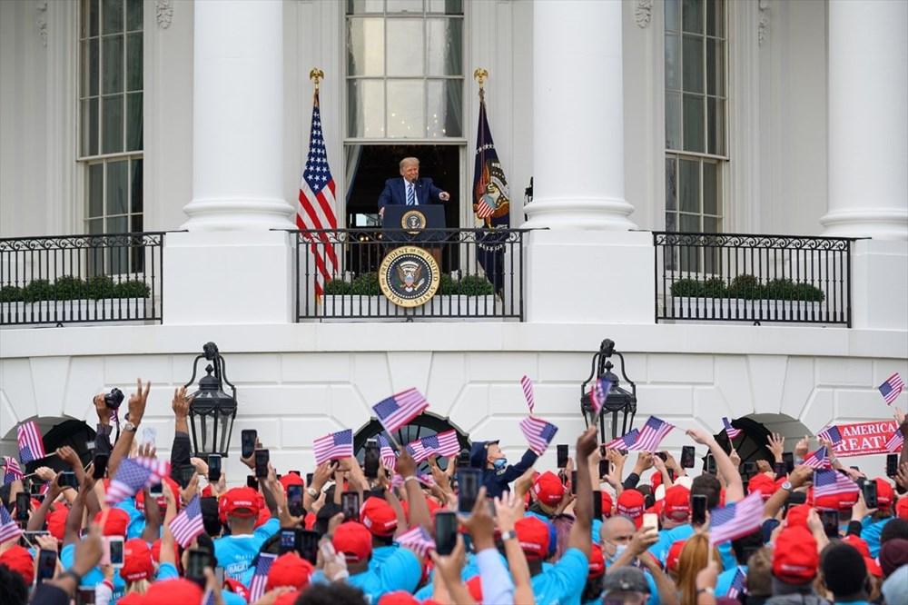 Trump Beyaz Saray'dan halka seslendi - 2