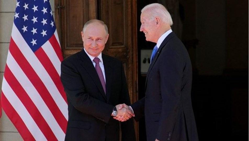 Putin:Görüşmede Biden ile aramızda hiçbir düşmanlık yoktu