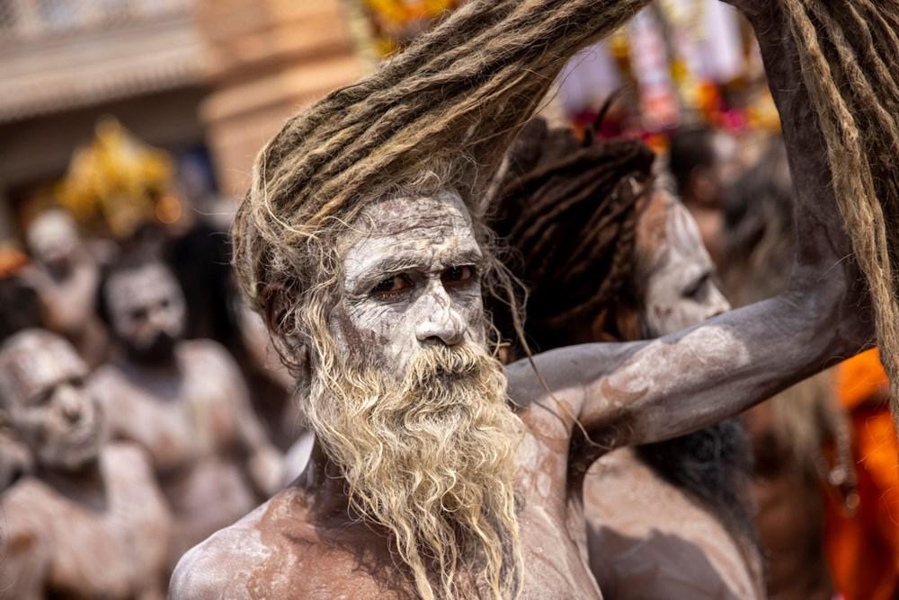 Hacılar Ganj Nehri'nde yıkandı: Hindistan'da günlük vaka sayısı rekor kırdı - 5