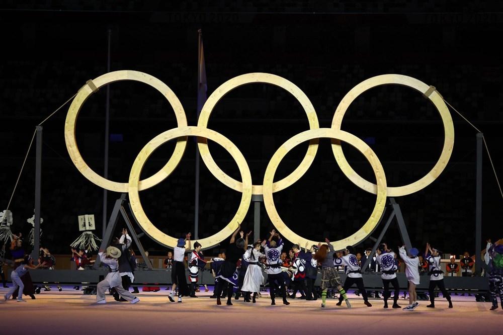 2020 Tokyo Olimpiyatları görkemli açılış töreniyle başladı - 47