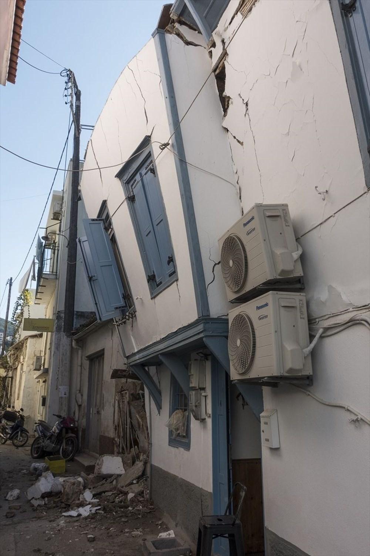 Depremin vurduğu Yunan adası Sisam'da son durum - 34