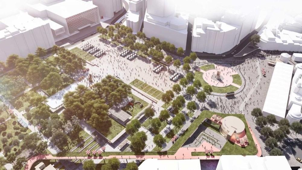 Taksim Meydanı Tasarım Yarışması sonuçlandı (Taksim Meydanı böyle olacak) - 5
