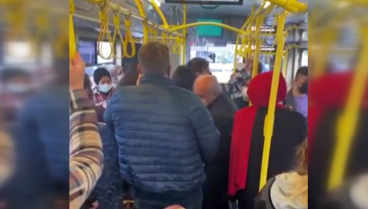 'Psikolojim bozuldu' dedi, yolcuları indirmek istedi