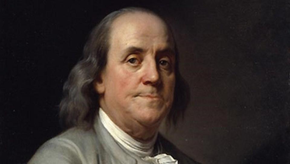 ABD'li mucit Benjamin Franklin