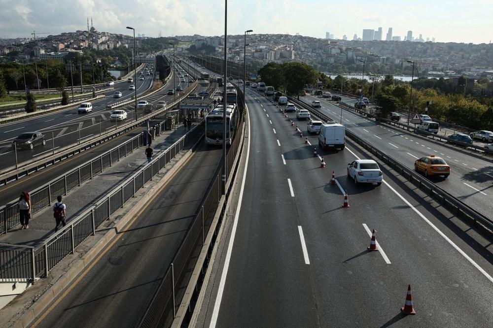 Haliç Köprüsü'ndeki 2'inci etap çalışmaları devam ediyor - 4