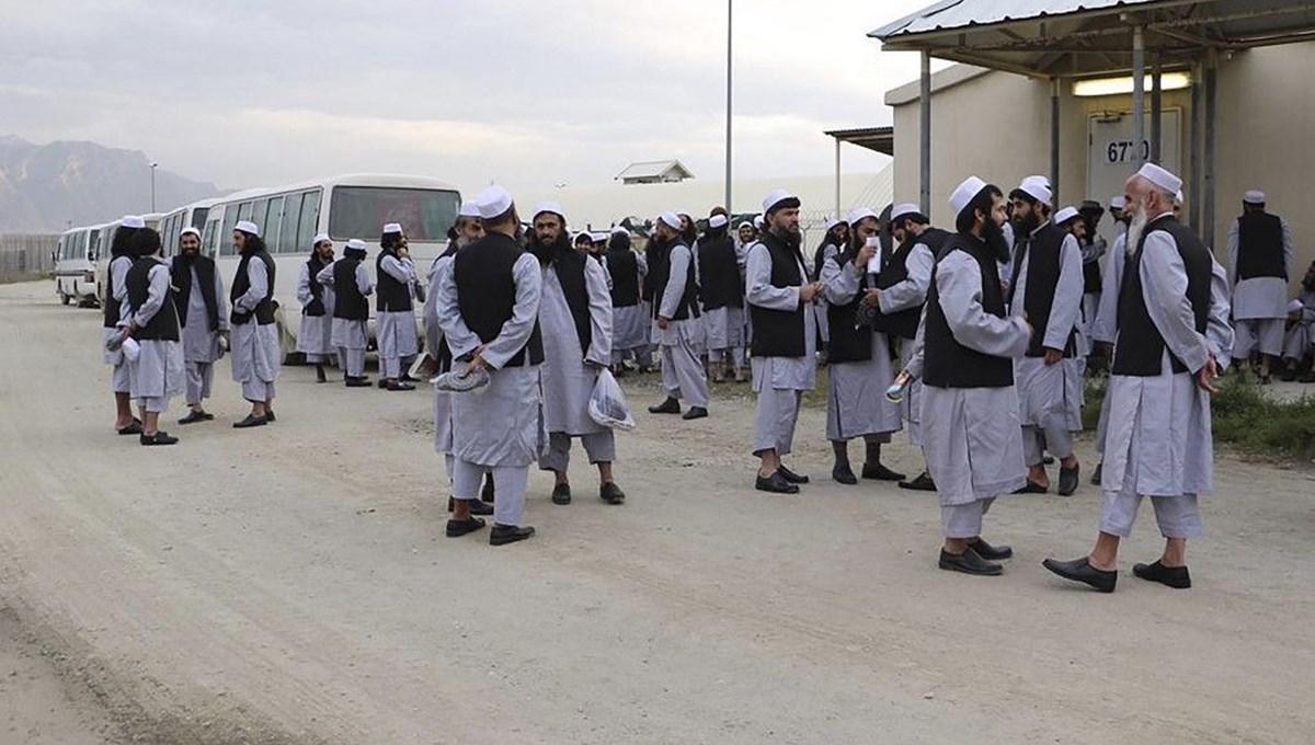 Afganistan'da ağır suçlara karışan 400 Taliban üyesi mahkum serbest bırakılacak