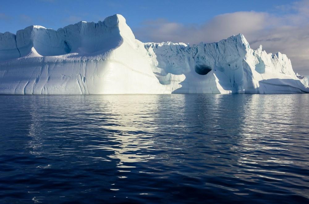İklim değişikliği nedeniyle Grönland'de büyük bir buz tabakası koptu - 6