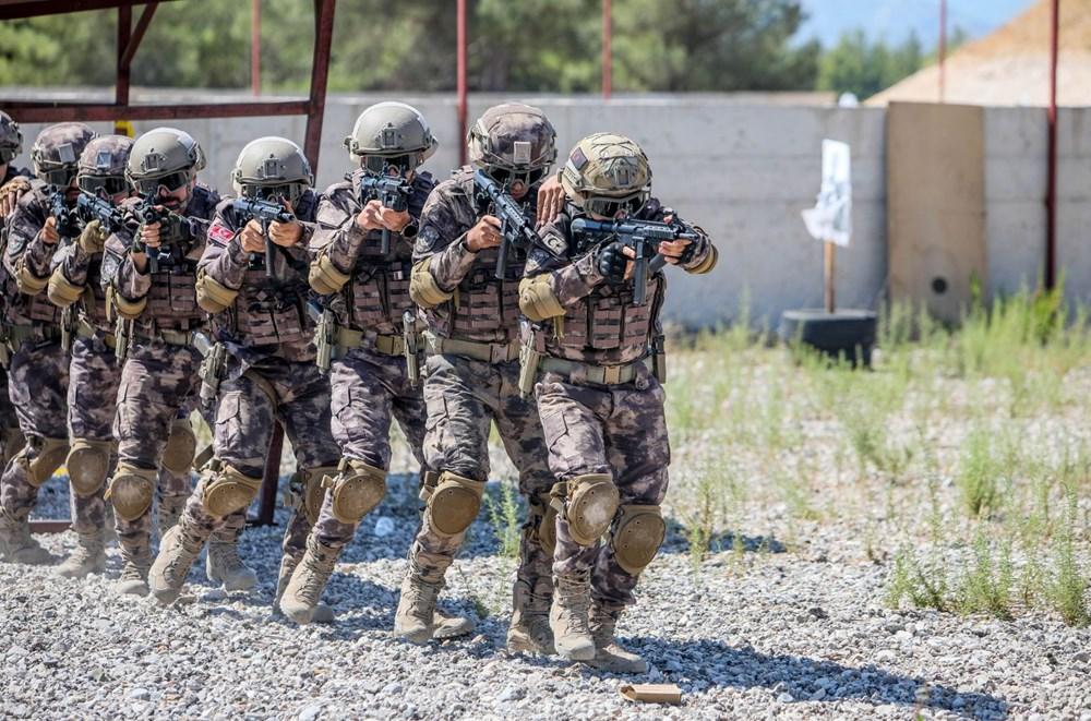 Özel Harekat'tan 35 derece sıcakta zorlu eğitim: Yerli silah 'Çılgın kız' dikkat çekti - 2