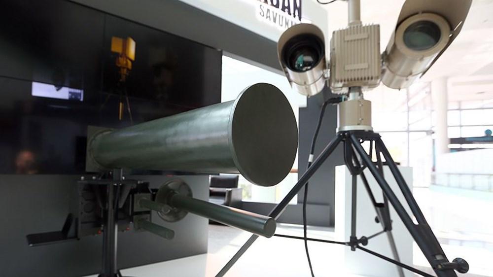 Dijital birliğin robot askeri Barkan göreve hazırlanıyor (Türkiye'nin yeni nesil yerli silahları) - 246