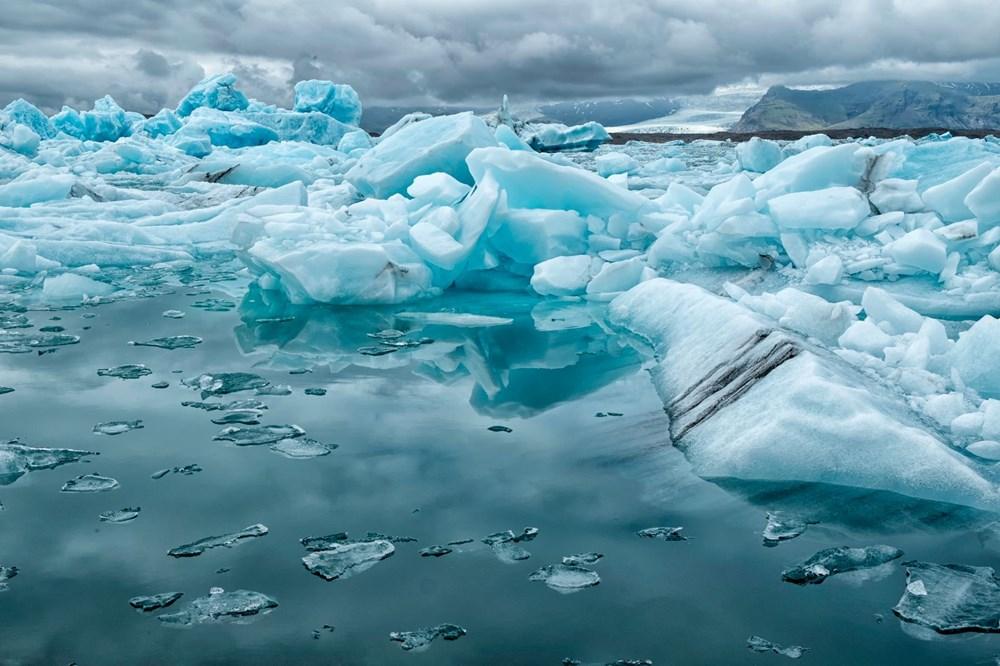 İklim değişikliği nedeniyle Grönland'de büyük bir buz tabakası koptu - 5