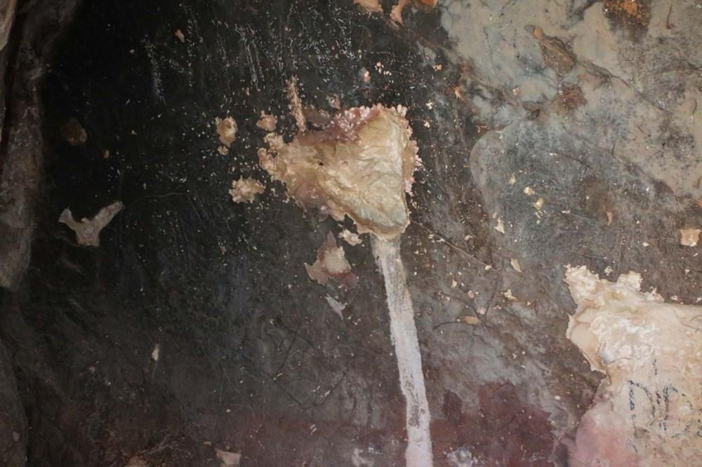 Palanlı Mağarası defineciler tarafından tahrip edildi - 8