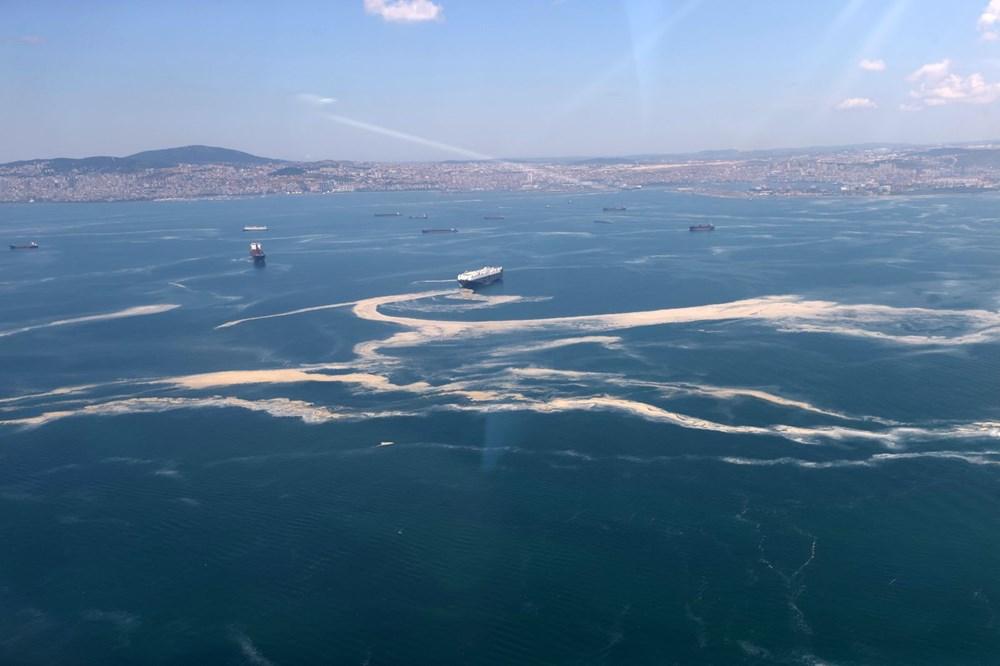 Müsilaj havadan görüntülendi: Deniz salyası her yerde - 19