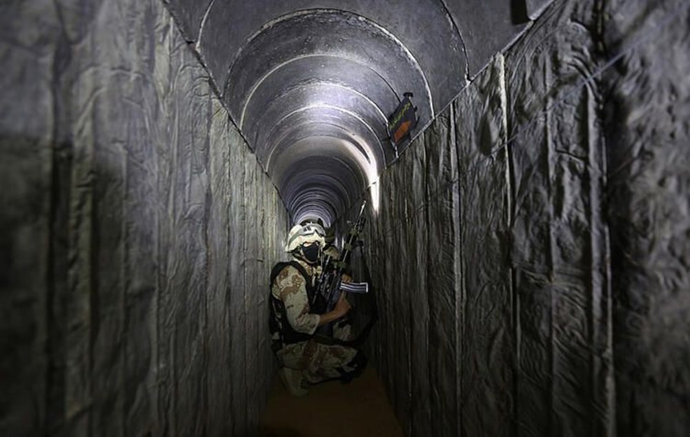 Hamas'ın Gazze'de kullandığı tüneller görüntülendi: İsrail'in hedefinde - 23