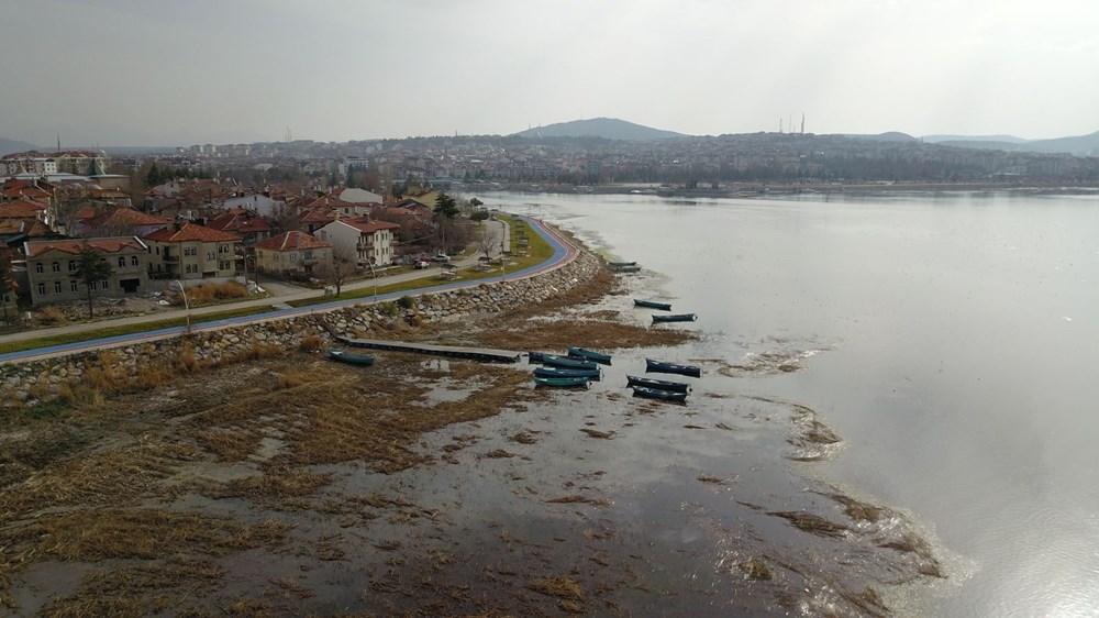 Beyşehir Gölü alarm veriyor: 50 metre çekildi - 5
