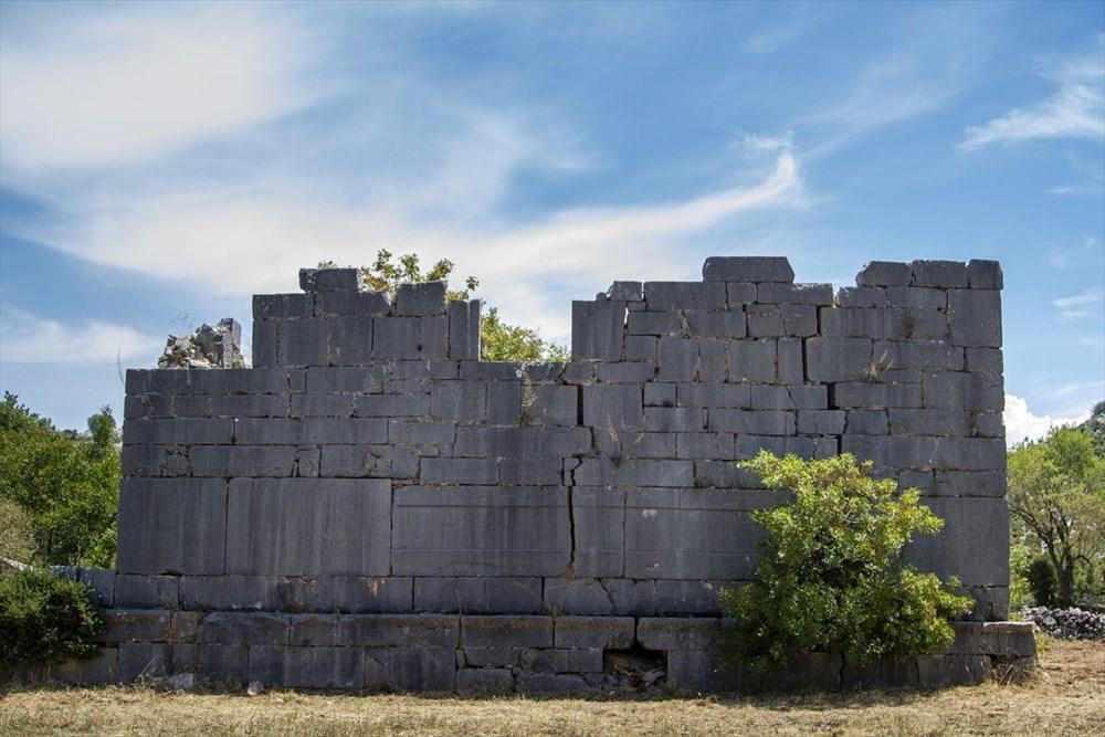 2 bin yıllık Sidyma Antik Kenti içinde yerleşik hayat - 16