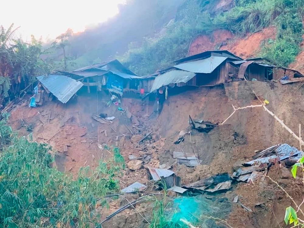 Vietnam'ı tayfundan sonra toprak kayması vurdu: 35'e yükseldi - 5